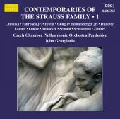 Album artwork for Contemporaries of the Strauss Family, Vol. 1
