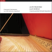 Album artwork for CONCERTOS AND SOLO WORKS FOR HARPSICHORD