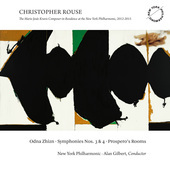 Album artwork for Christopher Rouse: Odna Zhizn, Symphonies Nos. 3 &