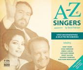 Album artwork for A to Z of Singers
