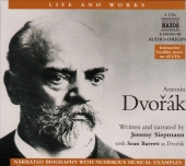 Album artwork for ANTONIN DVORAK - NARRATED BIOGRAPHY WITH NUMEROUS