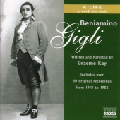 Album artwork for BENIAMINO GIGLI - A LIFE IN WORDS & MUSIC