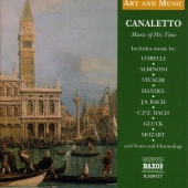 Album artwork for CANALETTO - MUSIC OF HIS TIME