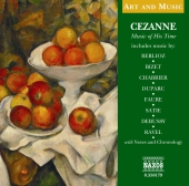 Album artwork for CEZANNE - MUSIC OF HIS TIME