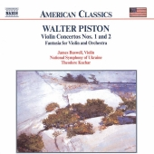 Album artwork for Piston: Violin Concertos / Buswell