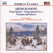 Album artwork for Foote - PIANO QUARTET, STRING QUARTET 1, NOCTURNE