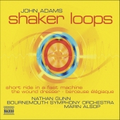Album artwork for John Adams: Shaker Loops, etc / Alsop, Gunn