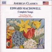 Album artwork for MacDowell: complete songs