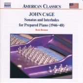 Album artwork for CAGE - SONATAS AND INTERLUDES FOR PREPARED PIANO
