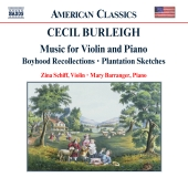 Album artwork for CECIL BURLEIGH: MUSIC FOR VIOLIN AND PIANO