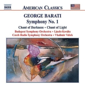 Album artwork for BARATI: SYMPHONY NO. 1 - CHANT OF DARKNESS