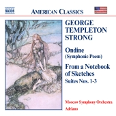 Album artwork for GEORGE TEMPLETON STRONG: ONDINE - FROM A NOTEBOOK