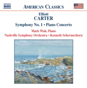 Album artwork for CARTER: SYMPHONY NO.1