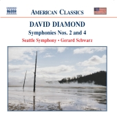 Album artwork for DIAMOND: SYMPHONIES NOS.2 & 4