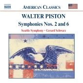 Album artwork for Piston: SYMPHONIES NOS. 2 AND 6