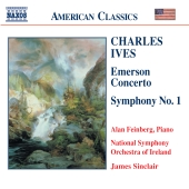 Album artwork for EMERSON CONCERTO, SYMPHONY NO. 1