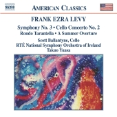 Album artwork for LEVY: CELLO CONCERTO NO.2; SYMPHONY NO.3; ETC.