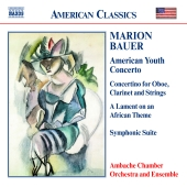 Album artwork for BAUER: AMERICAN YOUTH CONCERTO