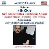 Album artwork for SIERRA: NEW MUSIC WITH A CARIBBEAN ACCENT