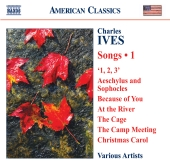 Album artwork for Ives: Songs Vol. 1