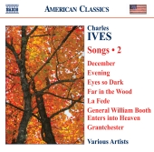 Album artwork for Ives: Songs vol. 2