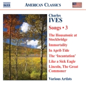 Album artwork for Ives: Songs Vol. 3