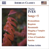 Album artwork for Ives: Songs, Vol. 5