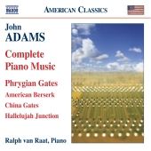 Album artwork for Adams: Complete Piano Music