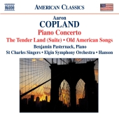 Album artwork for Copland: Piano Concerto, Tender Land, Old American