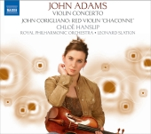 Album artwork for John Adams: Violin Concerto / Red Violin 'Chaconn