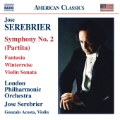 Album artwork for SEREBRIER - SYMPHONY NO. 2 / FANTASIA FOR STRINGS