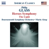 Album artwork for GLASS - HEROES SYMPHONY - THE LIGHT