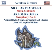 Album artwork for American Classics: Nicolas Flagello, Arnold Rosner