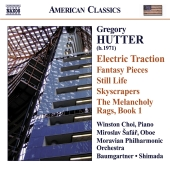Album artwork for Gregory Hutter: Electric Traction