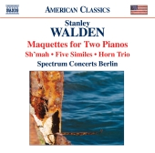 Album artwork for Walden : Maquettes for Two Pianos