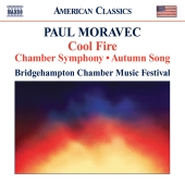 Album artwork for Moravec: Cool Fire, Chamber Symphony, Autumn Song