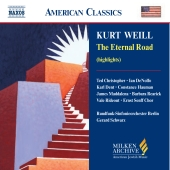 Album artwork for WEILL : THE ETERNAL ROAD