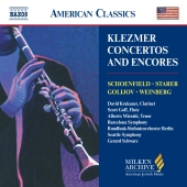 Album artwork for KLEZMER CONCERTOS AND ENCORES