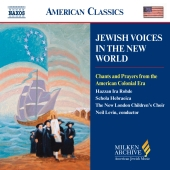 Album artwork for JEWISH VOICES IN THE NEW WORLD