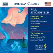 Album artwork for VIOLA CONCERTO, FOUR MOTETS