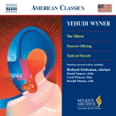 Album artwork for YEHUDI WYNER: THE MIRROR; PASSOVER OFFERING