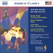 Album artwork for JEWISH MUSIC OF THE DANCE