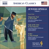 Album artwork for JEWISH OPERAS, VOLUME 2