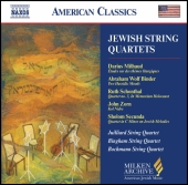 Album artwork for JEWISH STRING QUARTETS