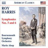 Album artwork for Harris: Symphonies 5 & 6