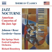 Album artwork for Jazz Nocturne - American Concertos of the Jazz Age
