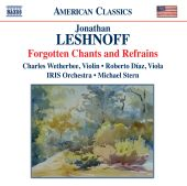 Album artwork for Leshnoff: Forgotten Chants and Refrains