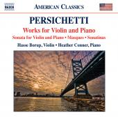 Album artwork for Persichetti: Works for Violin and Piano