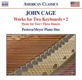 Album artwork for John Cage: Works for Two Keyboards vol. 2