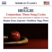 Album artwork for Heggie: CONNECTION: 3 SONG CYCLES